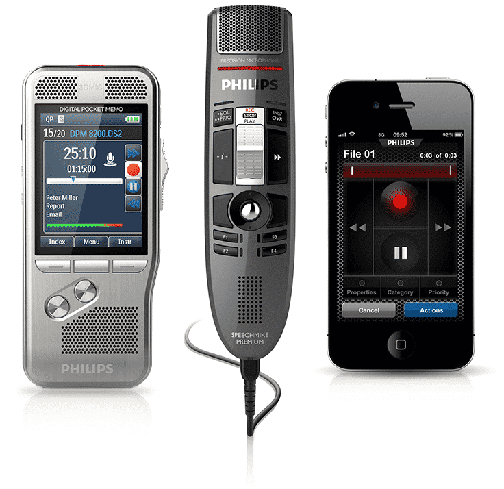 Philips SpeechLive Compatible Devices